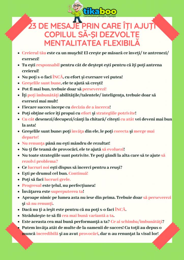 23 de mesaje prin care îţi ajuţi copilul să-şi dezvolte mentalitatea flexibilă 6