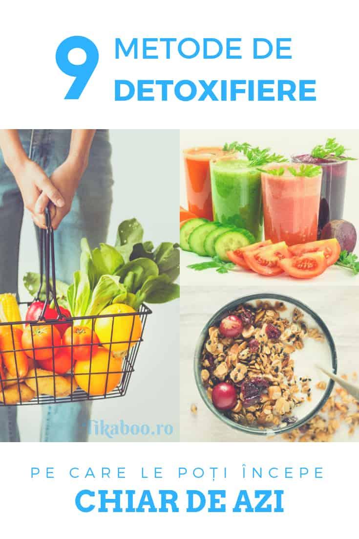 cură de detoxifiere - 9 metode de detoxifiere