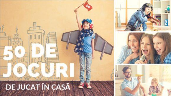 Read more about the article Cele mai Distractive 50 de Jocuri Pentru Copii în Casă