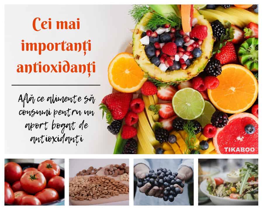 antioxidanti - produse bogate in antioxidanti