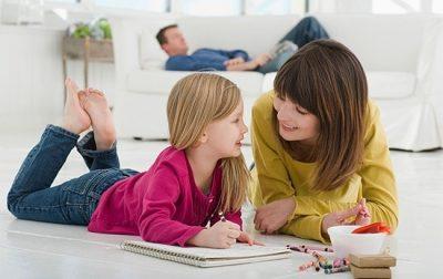 desenele vorbitoare - jocuri pentru copii in casa