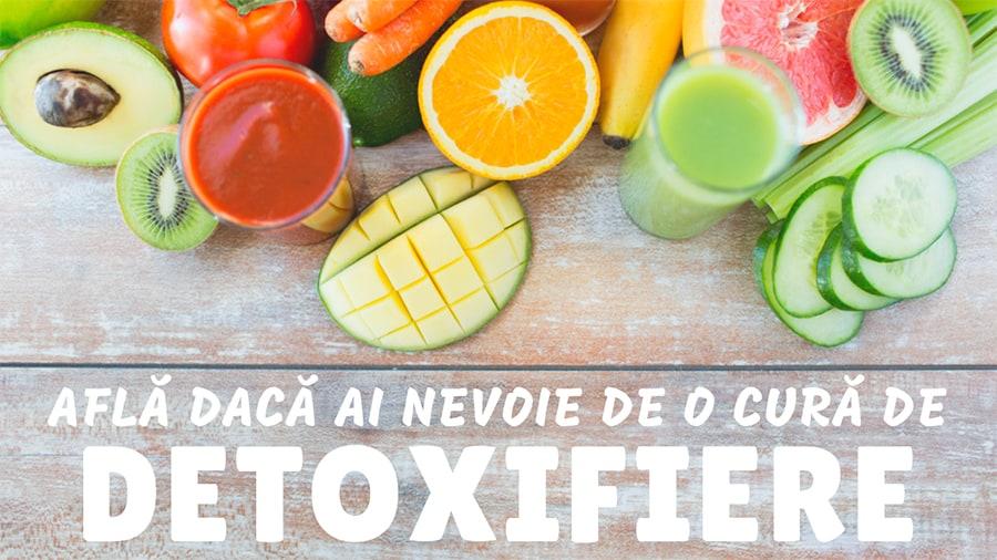 afla daca ai nevoie de o cură de detoxifiere