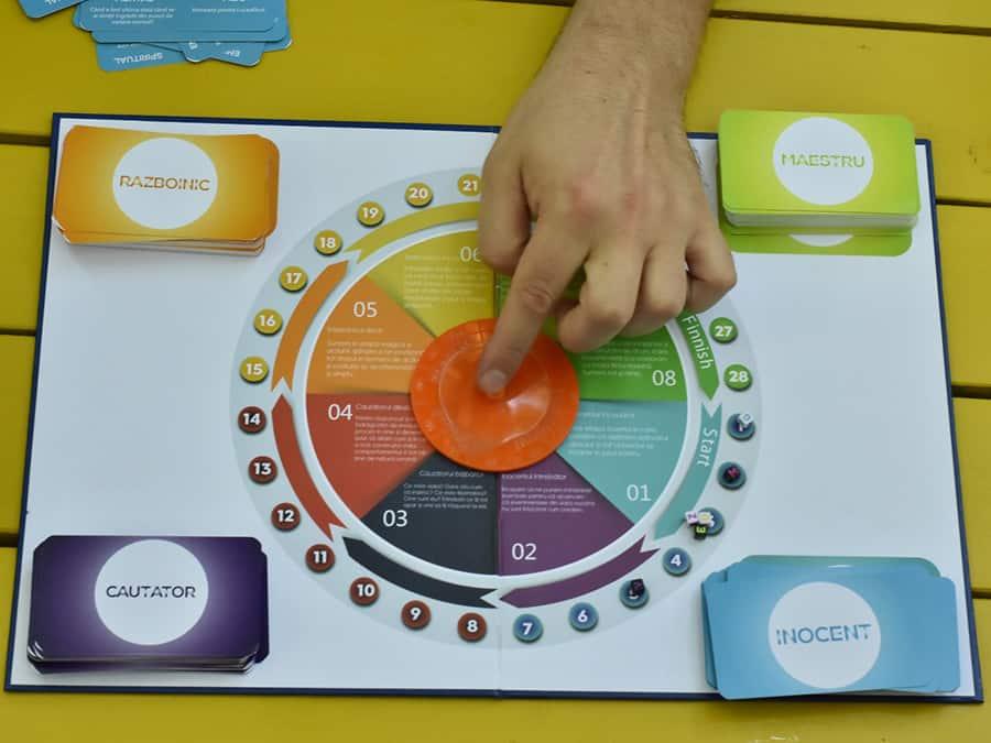 joc de dezvoltare personala inside hero - board game - joc de societate