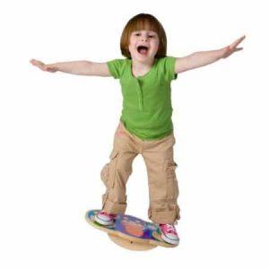 Placă pentru balans - jucării de lemn - jucării din lemn pentru copii -