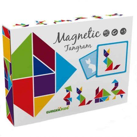 Joc tangram - jucării de lemn - jucării din lemn pentru copii -