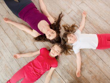 copiii si meditatia