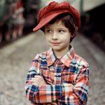 copil frumos