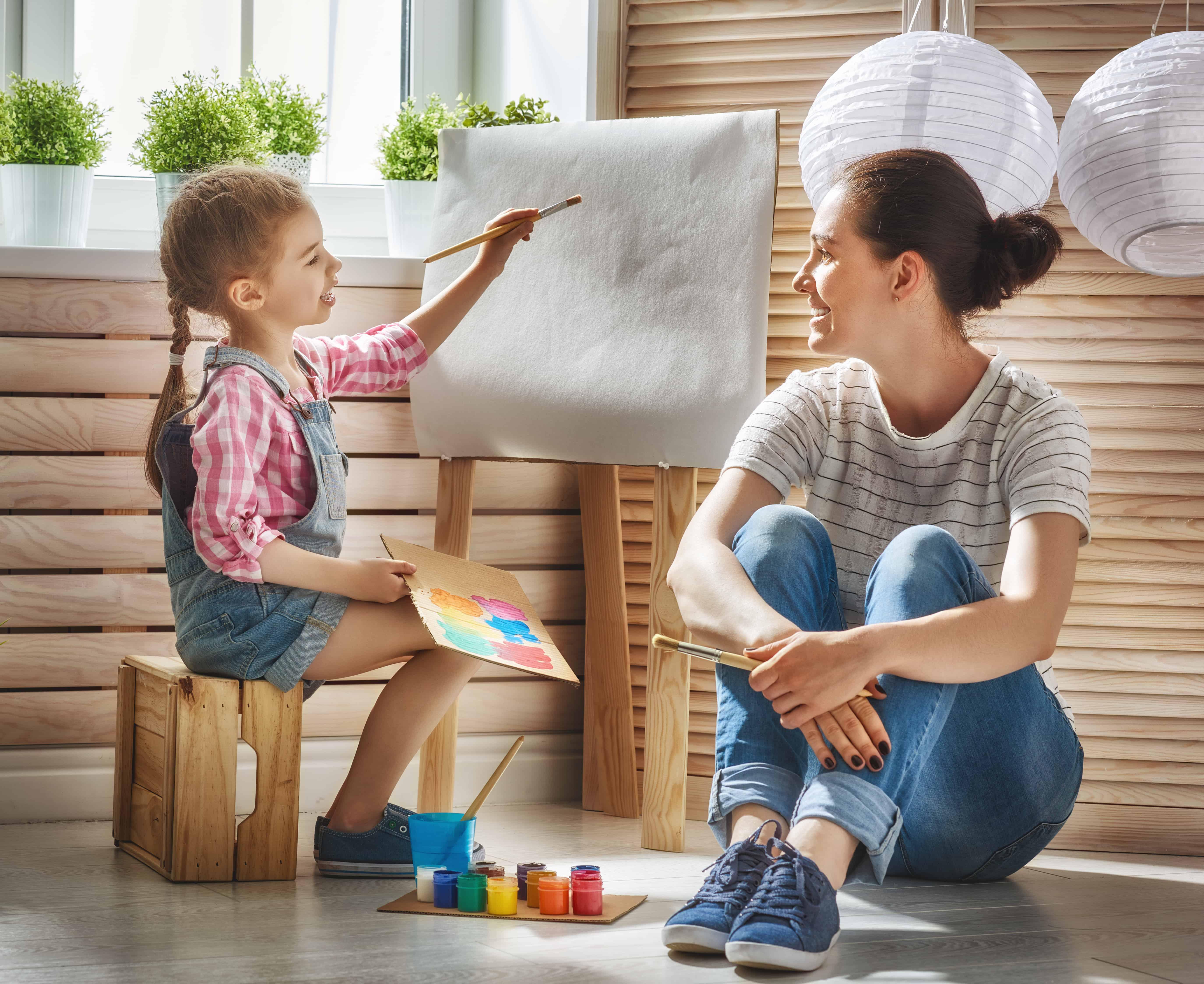 Dezvoltarea personală a copilului este o lecție predată de mamă 2