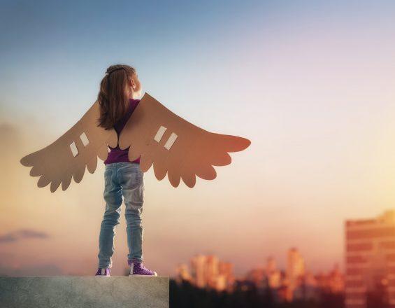 copil cu aripi