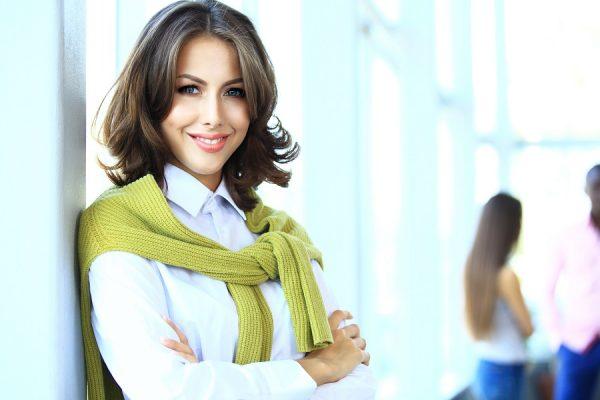 femeie de succes