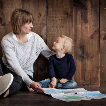 părinte cu copil