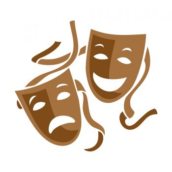 theatre mask symbol