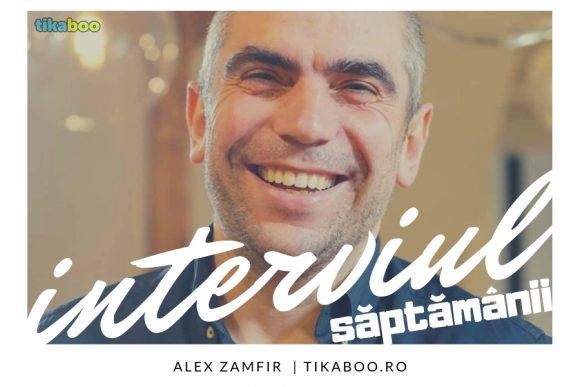 """Read more about the article Interviu cu Alex Zamfir: """"A fi părinte este cea mai mișto chestie care mi se putea întâmpla"""""""