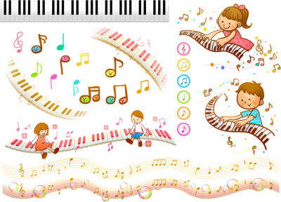 music score background funny for kidskids