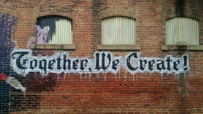tohether we create graffity