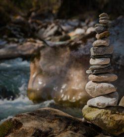 stones built as a castle