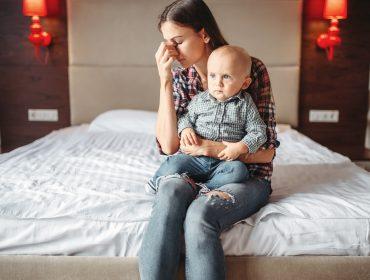 depresie mamele care stau acasă