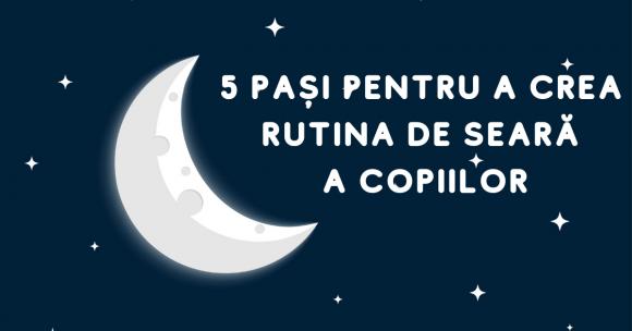 Read more about the article 5 pași pentru a crea rutina de seară a copiilor