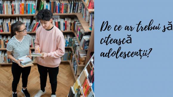 Read more about the article 10 motive pentru care orice adolescent ar trebui să citească