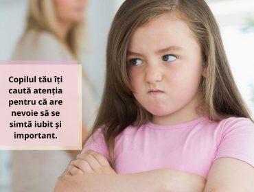 Cum reacționezi atunci când copilul tău caută atenția într-un fel nepotrivit? 6