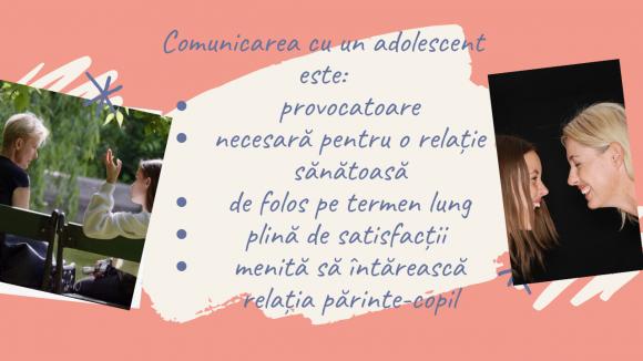 Read more about the article 10 modalități prin care îți poți ușura comunicarea cu un adolescent