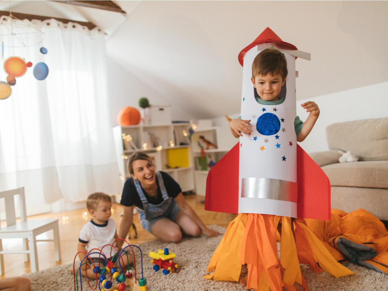 11 activități simple pentru a stimula creativitatea copilului tău 1