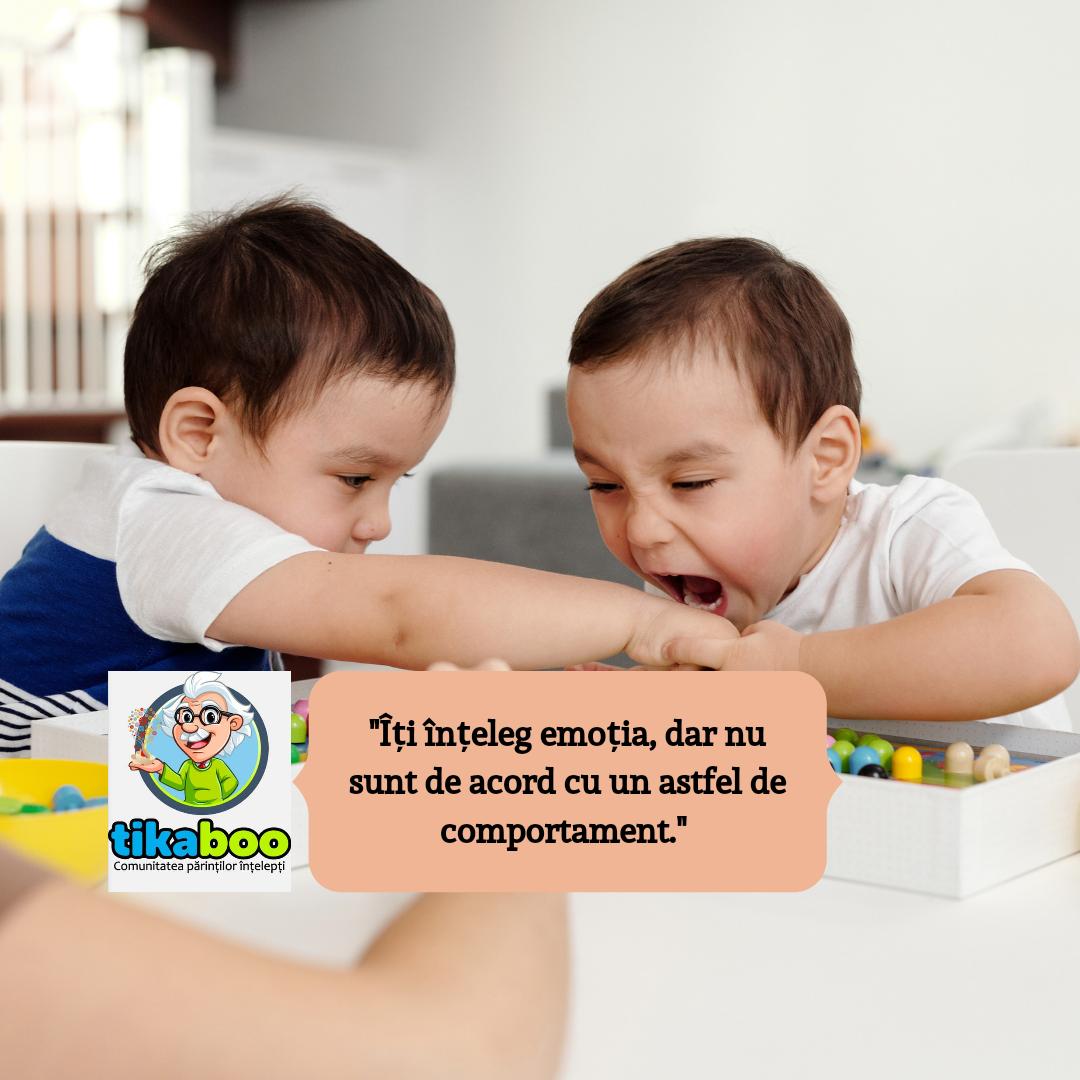 De ce este important să-l ajuți pe copilul tău să facă diferența între emoțiile sale și comportamentul său? 1