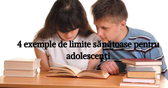 Read more about the article 4 limite personale și sănătoase pe care ai putea să le setezi adolescentului tău