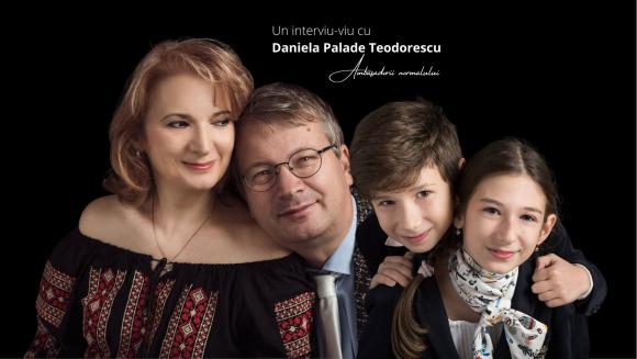 """Read more about the article Ni se mai spune """"patchwork family"""", adică """"familia din petice"""", una recompusă din fragmente de familie """"destrămată"""", cum sunt numite, ironic, familiile divorțate.   Un interviu-viu cu Daniela Palade Teodorescu, ambasador al normalului."""