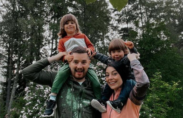 O familie fericită!