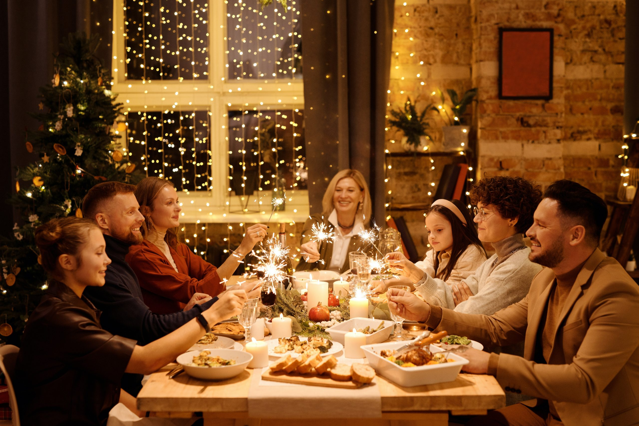 masa împreună în familie